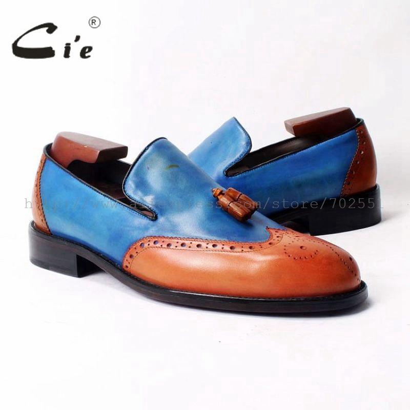 cie Round Toe Tassels 100%Genuine Leather Bespoke Leather Men Shoe Custom Handmade Leather Men Shoe Breathable Casual loafer52 купить часы haas lt cie mfh211 zsa