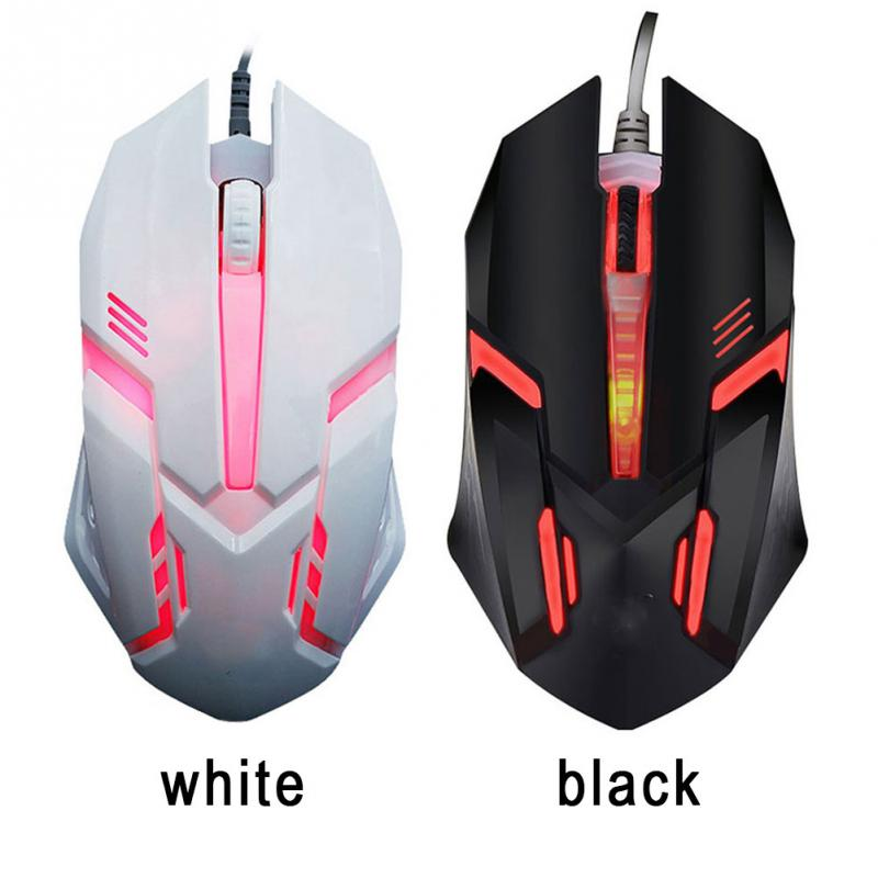 New Professional Wired Gaming Mouse 5500 Dpi 7 Buttons Led Optical Usb Wired Mice For Pro Gamer Computer Better Than X7 Mause Fine Workmanship Teddies