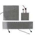 LED Pixel DC5V WS2812B панель экран 8*8 16*16 8*32 пикселей цифровой гибкий светодиодный матричный индивидуально адресуемый светодиодный модуль JQ