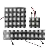 LED Pixel DC5V WS2812B Panel Screen 8*8,16*16,8*32 Pixels Digital Flexible Led Matrix Individually Addressable Led Module JQ