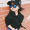 B & J Moda Bebê Fresco Crianças Crianças Boy Girl Sunglasses New Design Frame Criança Goggles UV400 proteger a Lente livre grátis