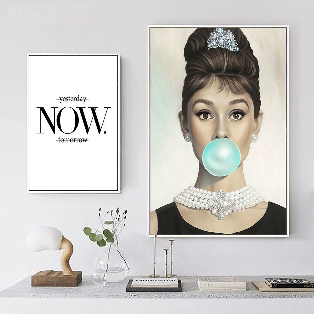 Buy audrey hepburn painting and get free shipping on AliExpress.com