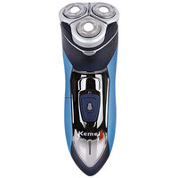 KM 7390 Electric Shaver Washable Razor For Men Blade Rechargeable Razor Shaving Men Face Beard Care