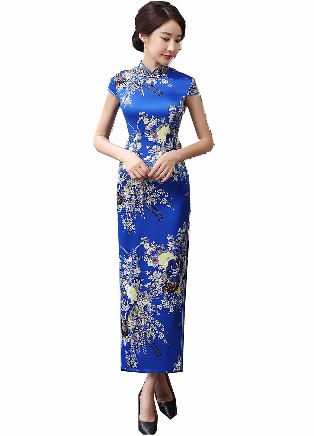 Shanghai Story Faux Silk chinese traditional clothing ...