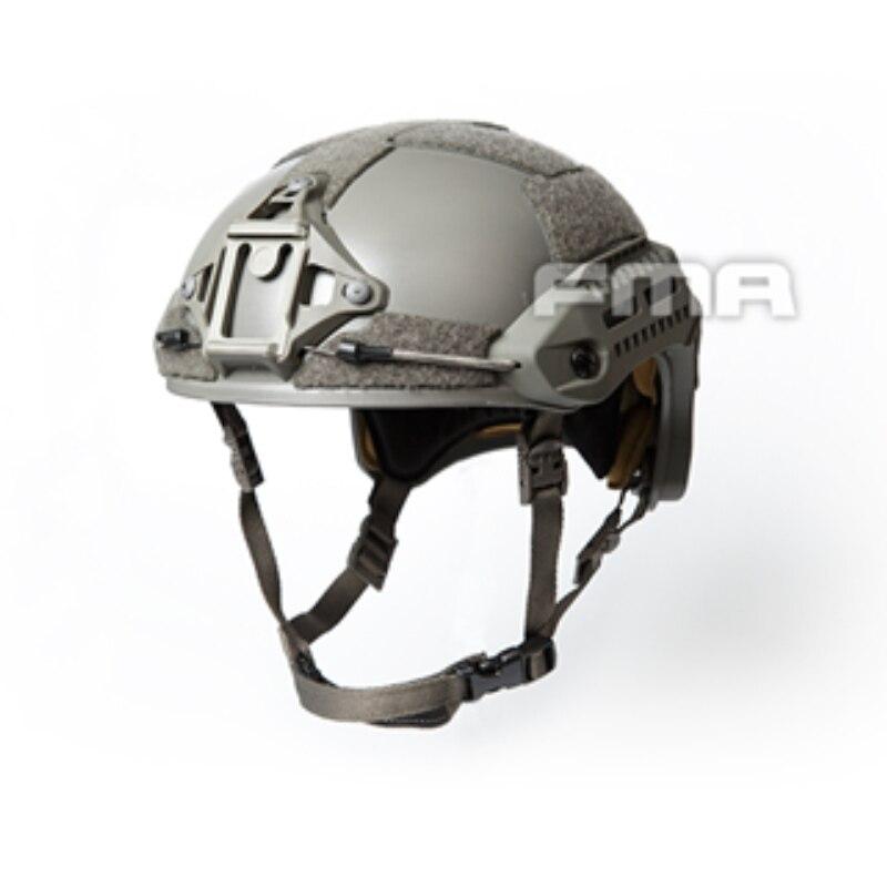 Plastique d'ingénierie d'abs de casque de Paintball militaire de Rail tactique d'airsoft de casque de FMA MT avec la bonne résistance aux chocs pour la chasse