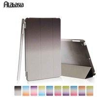 Case For Ipad 6 Air 2 Retina Rainbow Leather Ultra Slim Magnetic Smart Cover Auto Sleep