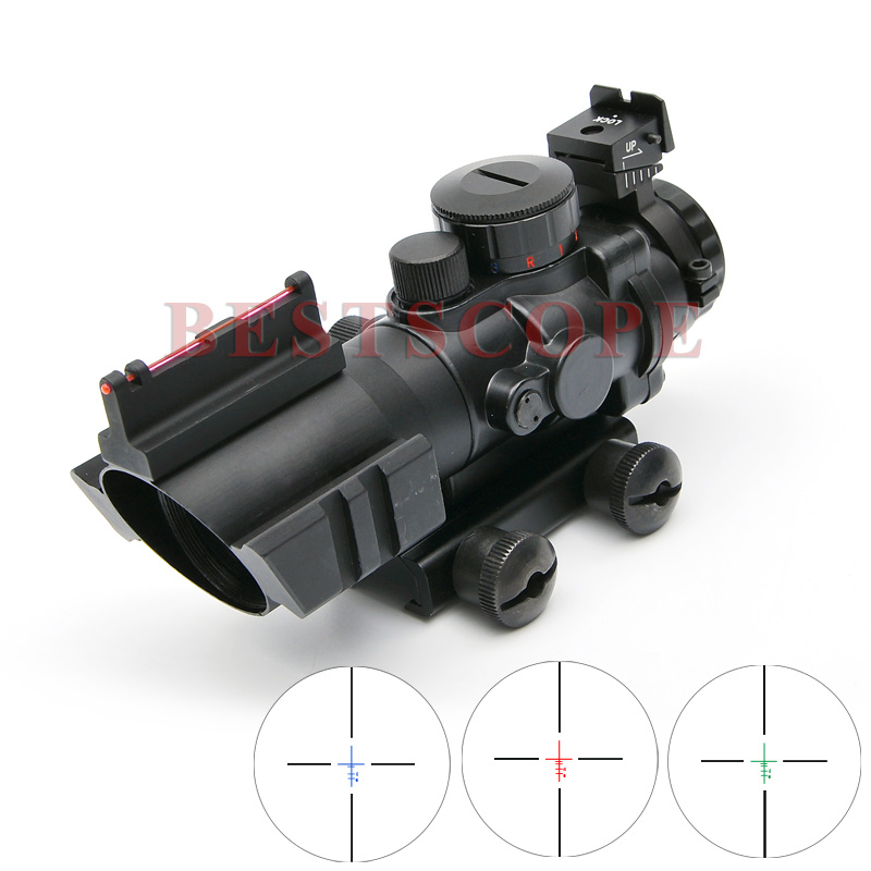 Carl ZEISS 4X32 Tactical Optical Riflescope Red&Green&Blue W/ Tri-Illuminated Reticle Fiber Rifle Scope For Hunting Scopes carl zeiss touit 1 8 32
