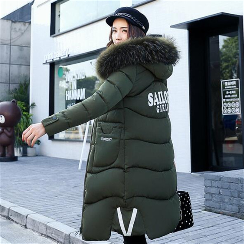 European and American Cotton women coat 2017 autumn and winter new wind thickening long solid fashion clothing high quality high power 12v led bulb smd 5730 portable led lamp outdoor camp tent night fishing hanging light lamparas 3w 5w 7w 9w 12w