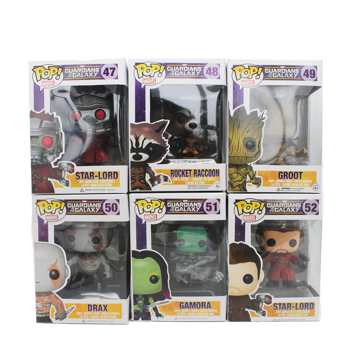 Funko <font><b>Pop</b></font> Bobble Head Groot Star-Lord <font><b>Rocket</b></font> <font><b>Raccoon</b></font> Drax Gamora Tree man <font><b>Guardians</b></font> <font><b>of</b></font> <font><b>the</b></font> <font><b>Galaxy</b></font> Anime Movie <font><b>Vinyl</b></font> PVC model