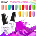 Elite99 New 1pcs UV Gel Nail Polish from 20 Macaron Colors Varnish Lacquer Gel Top Base Necessary Nail Art Paint 10ml