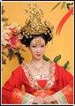 Tradicional chino boda de la novia Tiaras del pelo del pelo Hanfu traje de novia accesorios de estilo chino emperatriz del pelo corona