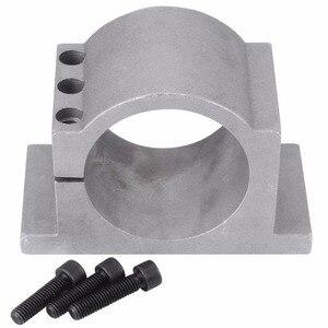 Image 5 - 2.2KW Air cooled spindle motor ER20 4 bearings & 2.2kw Inverter VFD 3HP 220V & 80mm aluminium Clamp + 1 set ER20 collet (14pcs)