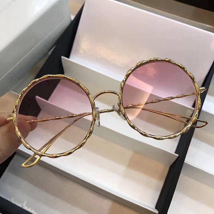 WD0620 2018 luxury Runway sunglasses women brand designer sun glasses for women Carter glasses
