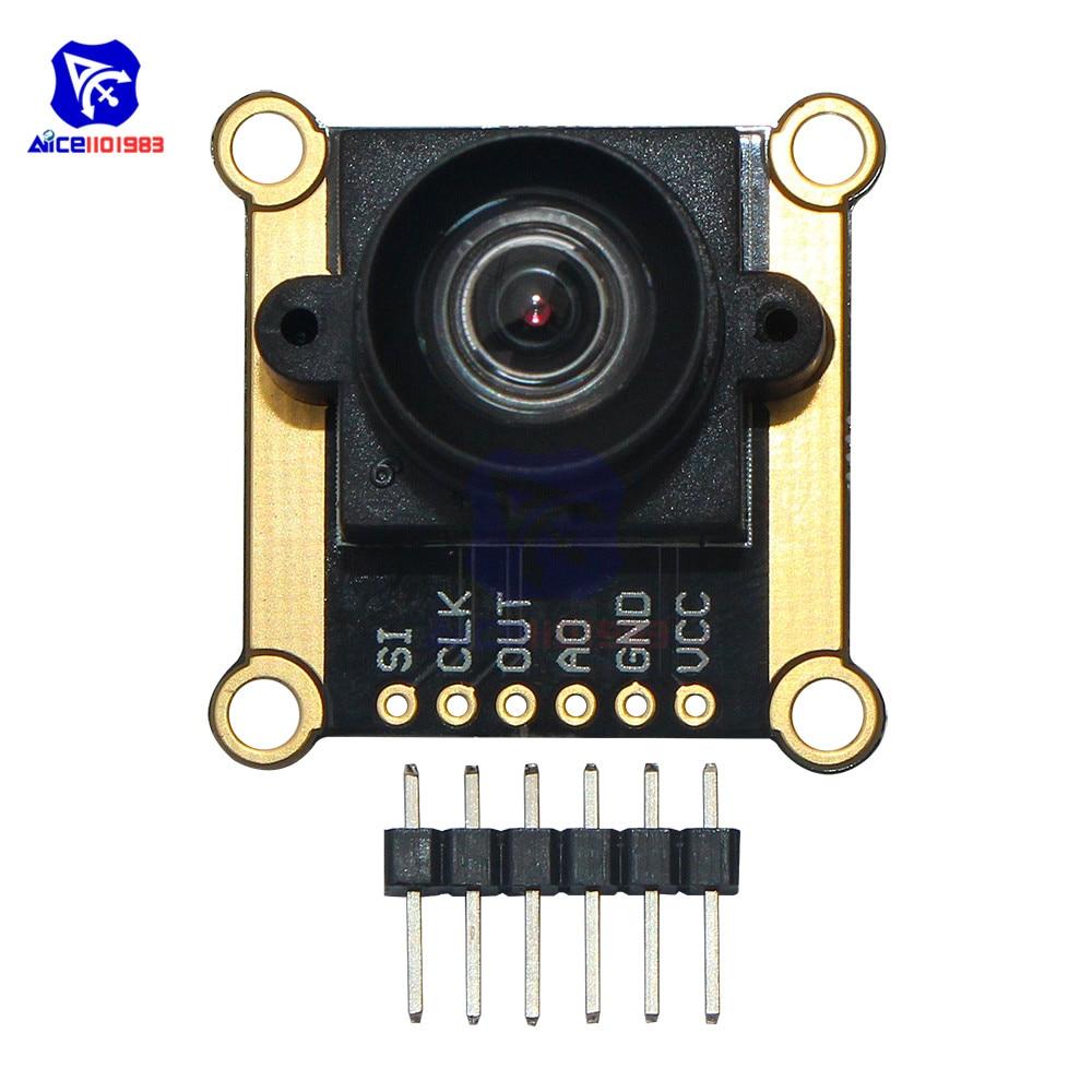 3V-5V TSL1401CL 128X1 Linear CCD Sensor Array with Hold Ultra Wide-Angle Lens Camera Tracking Module