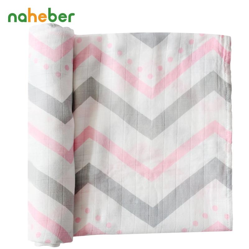 डबल परत धुंध बांस कपास मलमल डायपर बेबी Swaddles 120x120cm नवजात शिशु के लिए स्नान तौलिया तौलिया बच्चों के उत्पादों