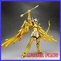 FÃS MODELO IN-STOCK Sagitário Aiolos S-Templo MC metalclub Ouro Saint Seiya Cloth Myth Ex2.0 armadura de metal Figura de ação