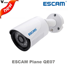 ESCAM Plane QE07 Network waterproof Outdoor POE ip camera Night Vision IR-Cut Support motion detector p2p colud ip bullet camera