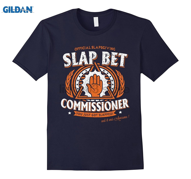 GILDAN SLAP BET COMMISSIONER Tshirt Womens T-shirt dress T-shirt