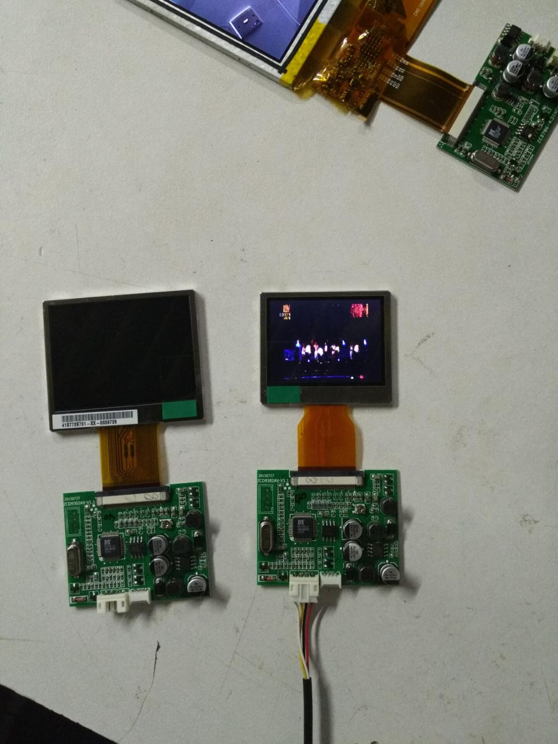 AUO 2 inch LCD display /2.0 LCD module /A020CN01.V1 display module 18 5 inch g185xw01 v 1 g185xw01 v1 lcd display screens