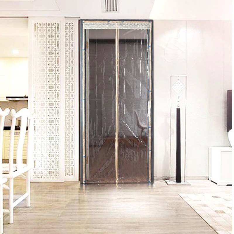 tamao de cocina durable anti mosquito cortina de puerta pvc aceite humo prevenir puerta