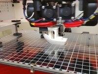 BigBox SWMAKER 314x214x4mm Vidro Borosilicato Cama para BigBox Reprap 3D printer parts acessório de cor clara