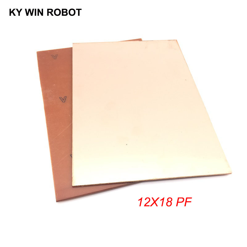 Pcb & Pcba Single-sided Pcb 1 Pcs Pf Pcb 12*18cm Single Side Copper Clad Plate Diy Pcb Kit Laminate Circuit Board 10x15cm 120x180x1.6mm Agreeable To Taste