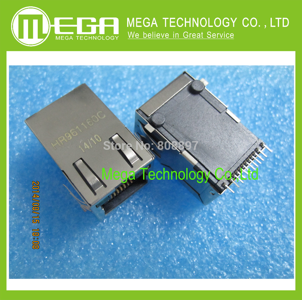 Free shipping 20PCS HR961160C HR961160  RJ45 Network isolation transformer-in Integrated Circuits from Electronic Components & Supplies    1