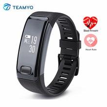 Teamyo C9 Смарт Наручные Часы Кровяного Давления Heart Rate Monitor HD Дисплей Фитнес-Трекер Умный Браслет Водонепроницаемые Часы