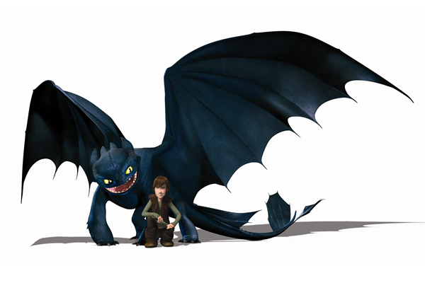 Free Shipping HTTYD Cartoon Poster Nightfury Toothless