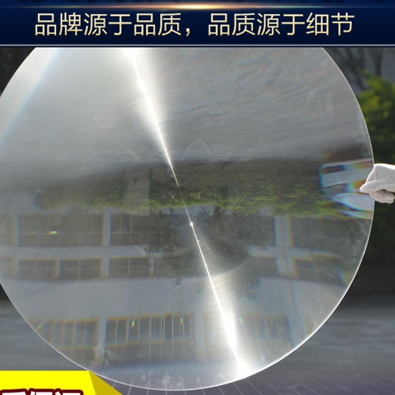 1PC 900mm Dia Big Round PMMA Plastic Solar Fresnel Condensing Lens Focal Length 700mm for Magnifier,Large Solar Concentrator 2pcs 150mm big optical pmma plastic round solar condensing compound eye fresnel lens improving brightness of light focal length