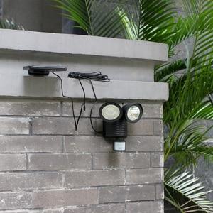 Image 3 - 450 LM 22LEDแสงแดดWallโคมไฟพลังงานแสงอาทิตย์กลางแจ้งพลังงานแสงอาทิตย์สำหรับตกแต่งสวนกันน้ำLed Light Motion Sensor