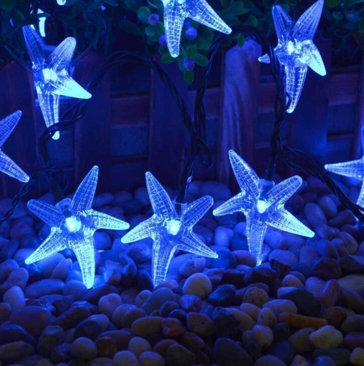 Светодио дный 3 светодио дный м 20 LED Солнечный свет шнура Рождество события вечерние украшение партии огни красочный праздник