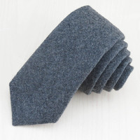 (1pcs/lot)Nobility is not expensive/pure gray wool arrow type high-grade tie/fashion classic business