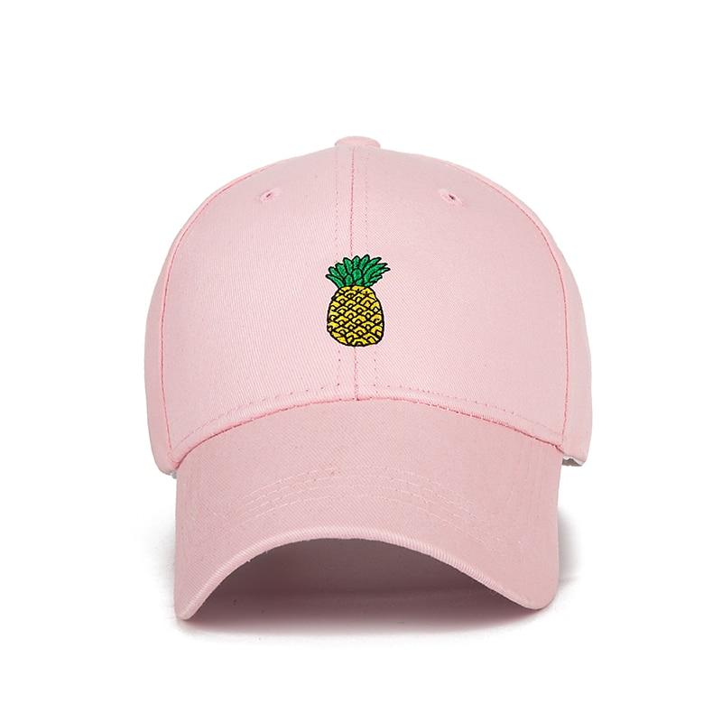 SIMPLESHOW New Pineapple Baseball Cap Unisex Embroidery Snapback Hat Women  Men Summer Sport Hat Print Dad Cap bone Dropshipping-in Baseball Caps from  Men s ... ebb9dea08eef