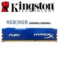 Kingston HyperX FURY PC Memory RAM Memoria Module Computer Desktop 4GB 4G 8GB 8G DDR3 PC3 1600Mhz 1600 1866MHZ 1866 RAM