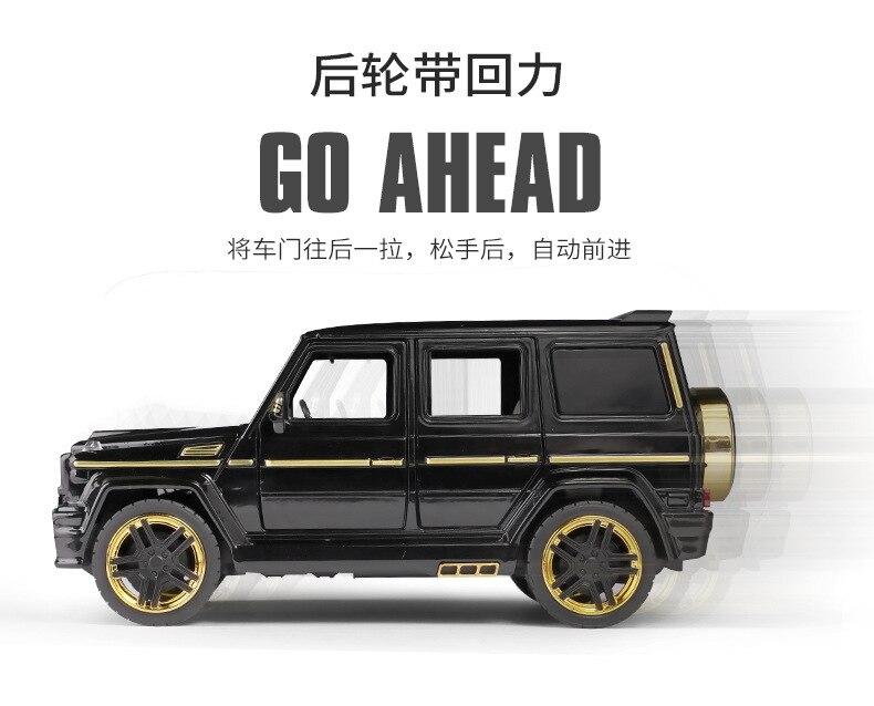 Brabus G65 Off-road 1:24 Die Cast Modellauto Spielzeug Sammlung