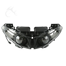 Motorcycle Front Headlight Lamp Assembly For Yamaha YZF-R1 YZF R1 2012-2014 2013 2014 Clear