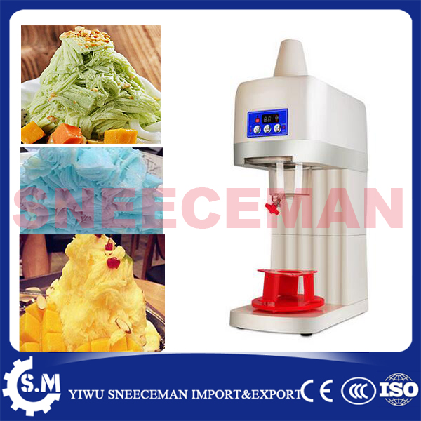 90kg/h factory directly sell Commercial Electric Snow Ice Cream Shaver Shaved Ice Cream Shaving Maker Machine Crusher machine edtid electric commercial cube ice crusher shaver machine for commercial shop ice crusher shaver