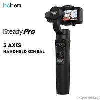 Original hohem isconstante pro 3 axis handheld cardan estabilizador para câmera de ação cams esportes|Estabilizador portátil| |  -
