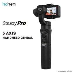 Oryginalny Hohem iSteady Pro 3 axis Handheld stabilizator gimbal dla sportu kamery kamera akcji|Ręczny gimbal|   -