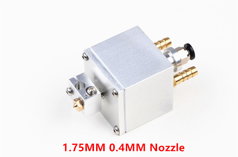 Funssor water cooled V6 hotend extrusion kit 1.75mm 0.4MM high temperature printing Extruder for DIY Prusa 3D printer