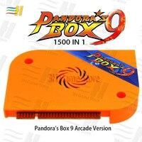 Pandora box 9 arcade version game board Built in 1500 games For arcade machine Pandora's Box 9 1500 in 1 pandora 5s 6s 7 pacman