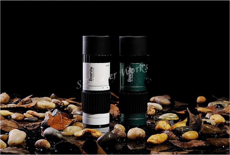 Original Boshile travel binoculars 15-75x25 HD Flexible focus High Power Mini Monocular Zoom Telescope For Camping Free Shipping 21
