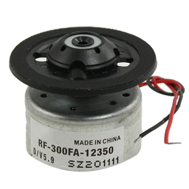 Nuevo Motor de husillo RF-300FA-12350 DC 5,9 V para reproductor de CD DVD plateado + negro