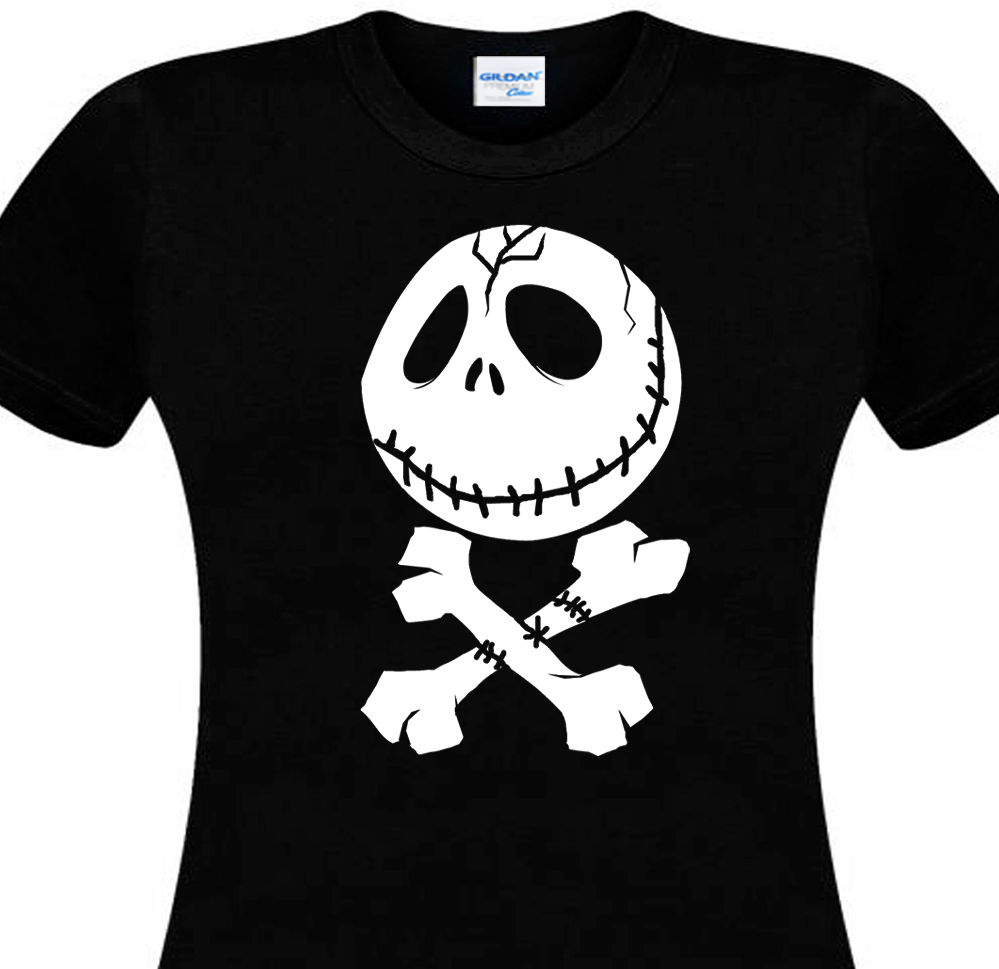 2018 100% Cotton Short Sleeve O-Neck Tops Tee Shirts Mr Jack Skull Tattoo Different Colours High Quality Tees