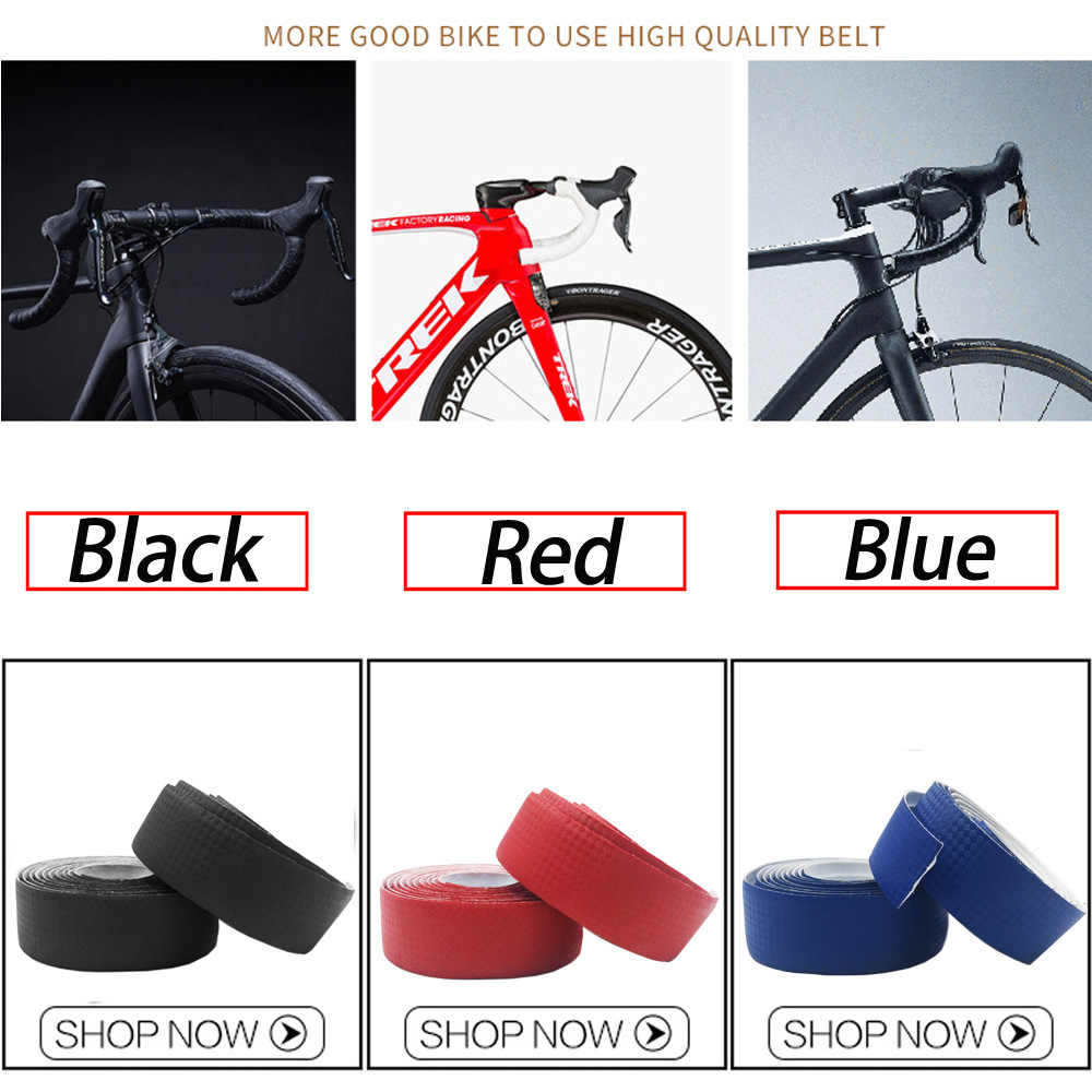 EVA Cork Handlebar Tape Black Bike TAPE WRAP FlXIE BMX ROAD Bicycle
