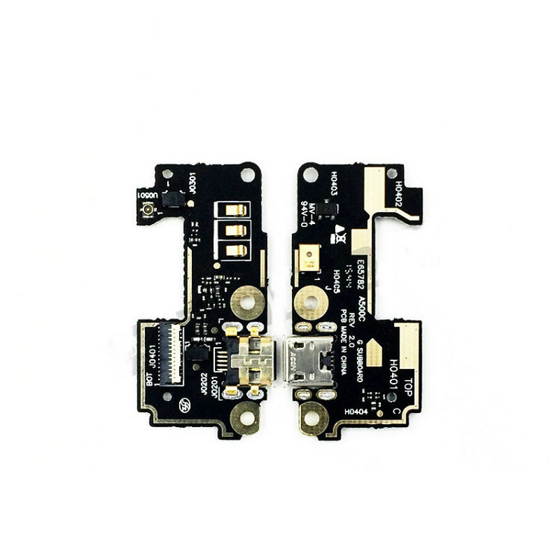 New USB Charge Charging Mic Microphone Board Flex Cable For Asus Zenfone 5 ZF5 T00JF A500CG Mobile Phone