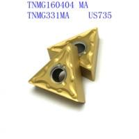 us735 כלי קרביד כלי כלי 20PCS קרביד TNMG160404 / TNMG331 MA VP15TF / UE6020 / US735 CNC מחרטה כלי 60 (3)