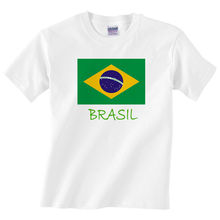 Children's Brasil T Shirt - Boys or girls Brazil Flag teeT Shirt Cotton Men Short Sleeve Tee Shirts  Shirt teet kallas käsi page 8