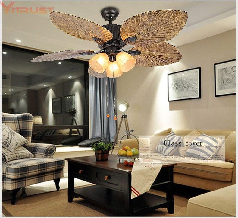 Ceiling fan lamps fans light bedroom living room remote - Bedroom ceiling fans with remote control ...